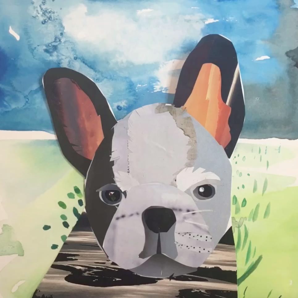 Animal Collage - Free Art Lesson Video