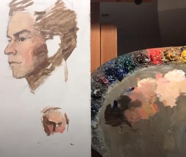 Portrait Painting - Online Class