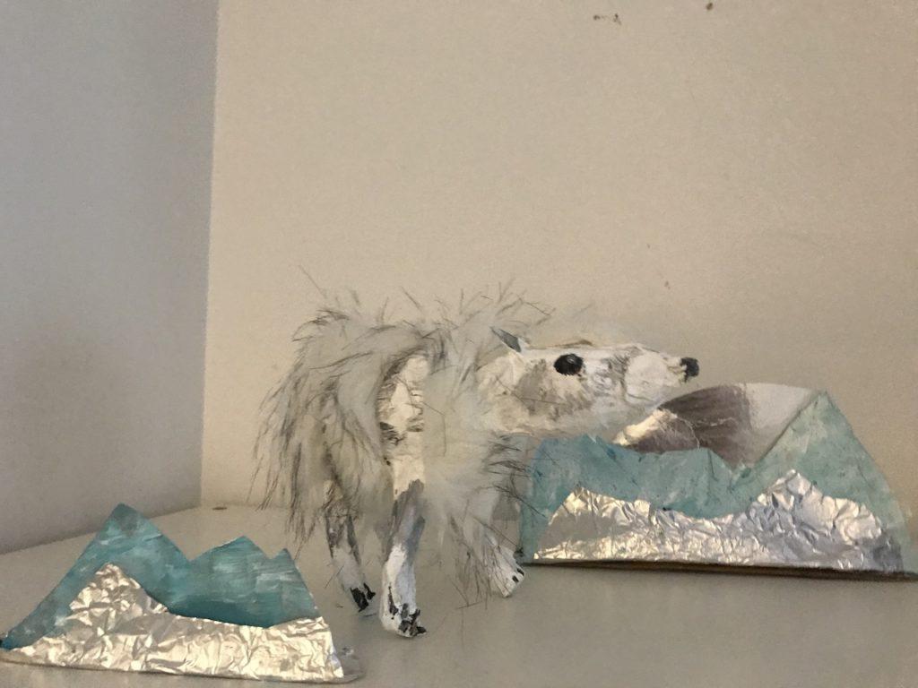 Make a Polar Bear Sculpture - Free Art Lesson Video
